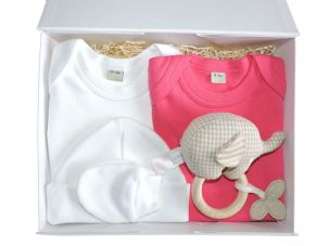 Little Miss Muffet Baby Gift Box by Mulberry Organics